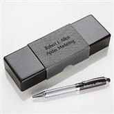 Signature Series Personalized IT Pen Case and Stylus Pen Set - 15613