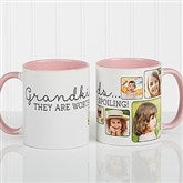 They're Worth Spoiling Personalized Photo Coffee Mug 11oz.- Pink - 15625-P
