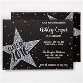 Shining Star Personalized Invitations - 15629