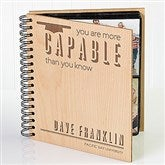 You Are More Capable Than You Know Personalized Graduation Photo Album - 15636