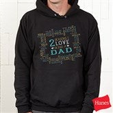 Reasons Why Personalized Black Hooded Sweatshirt - 15638-BHS