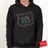 Reasons Why Personalized Black Hooded Sweatshirt - 15638-BHS