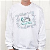 Reasons Why Personalized White Sweatshirt - 15638-WS