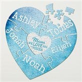 We Love You To Pieces Personalized Puzzle - 15640-H