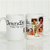 They're Worth Spoiling Personalized Coffee Mug 15oz.- White - 15654-L