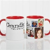 They're Worth Spoiling Personalized Coffee Mug 11oz.- Red - 15654-R