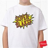 Super Hero Personalized Hanes® Youth T-Shirt - 15656-YCT