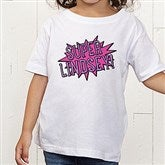 Super Hero Personalized Toddler T-Shirt - 15656-TT