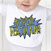 Super Hero Personalized Bib - 15656-B
