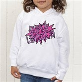 Super Hero Personalized Toddler Hooded Sweatshirt - 15656-CTHS