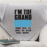 Granddude Personalized Sweatshirt Blanket - 15657