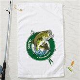 Fisherman Personalized Towel - 15661