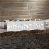 You Name It Personalized 3 Tea Light Candle Holder- Monogram - 15663-M