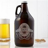 Dad's Brewing Co. 64oz. Personalized Beer Growler