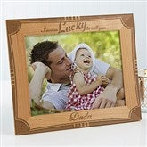 I'm Lucky To Call You Dad Personalized Frame- 8 x 10 - 15674-L