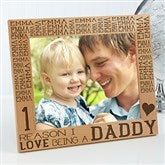 Reasons Why For Him Personalized Picture Frame- 8 x 10 - 15675-L