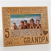 Reasons Why For Him Personalized Picture Frame- 5 x 7 - 15675-M