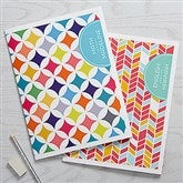 Geometric Subject Personalized Folders - Set of 2 - 15700