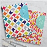Geometric Subjects Personalized Large Notebooks-Set of 2 - 15701