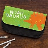 Dinosaur Personalized Pencil Case - 15706
