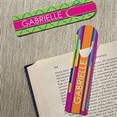 Bright & Cheerful Personalized Bookmark Set - 15711