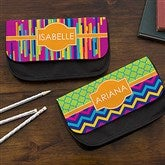 Bright & Cheerful Personalized Pencil Case - 15712