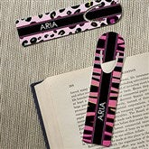 Animal Print Personalized Bookmark Set - 15713