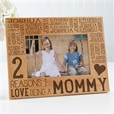Reasons Why For Her Personalized Picture Frame- 4 x 6 - 15737-S