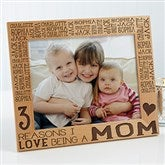 Reasons Why For Her Personalized Picture Frame- 8 x 10 - 15737-L