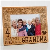 Reasons Why For Her Personalized Picture Frame- 5 x 7 - 15737-M