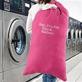 Write Your Own Embroidered Laundry Bag - 15763