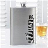 I Do Crew Personalized Groomsman Flask - 15768