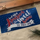 Land Of The Free Personalized Oversized Doormat- 24x48 - 15773-O
