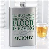Irish Quotes Personalized Flask - 15782