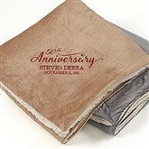 Everlasting Love Embroidered 60x72 Sherpa Blanket - 15814-L