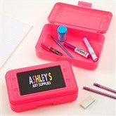 All Mine! Personalized Pink Pencil Box - 15816-P-T