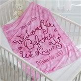 I Loved You...Personalized Keepsake Blanket - 15830