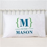 Name Bracket Personalized Pillowcase - 15831
