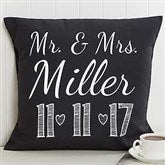 Our Wedding Date Personalized 18