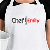 The Chef Personalized Adult Apron - 15850-A