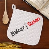 The Chef Personalized Potholder - 15850-AP