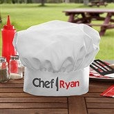 The Chef Personalized Adult Chef Hat - 15851