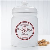 Circle Of Love Personalized Cookie Jar - 15871