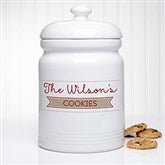 Our Family Personalized Cookie Jar - 15872