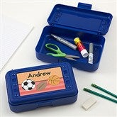 Just For Him Personalized Pencil Box - 15877-T