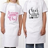 Chef In Training Personalized Kid's Apron - 15882
