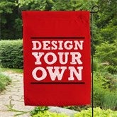 Design Your Own Personalized Garden Flag