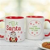 Milk For Santa Mug Personalized Mug - 15915-M