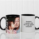 Loving Them Personalized Photo Coffee Mug 11oz.- Black - 15932-B