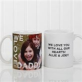 Loving Them Personalized Photo Coffee Mug 11oz.- White - 15932-S
